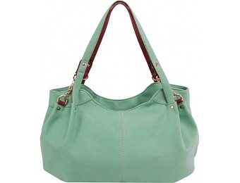 64% off Parinda Arianna Shoulder Bag Green Handbag