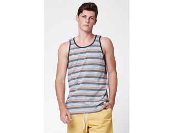55% off Alkes Striped Pocket Tank Top