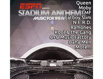 64% off ESPN Stadium Anthems: Music for the Fans (18 tracks)