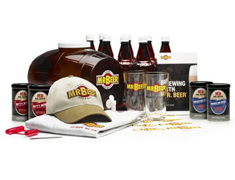 40% off Mr. Beer Brewmaster's Select Home Beer-Making Kit