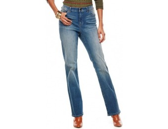 83% off Chaps Curvy Straight-Leg Jeans - Women's