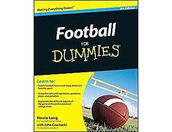 $6 off Football for Dummies (Paperback)