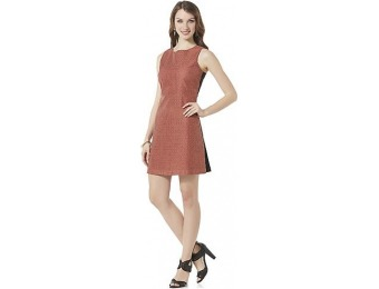 94% off Metaphor Women's Perforated Overlay Fit & Flare Dress