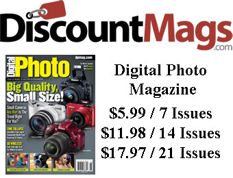 87% off Digital Photo Magazine Subscription, $5.99 / 7 Issues