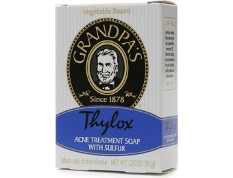 52% off Grandpa's Thylox Acne Treatment Soap with Sulfur - 3.25 oz.