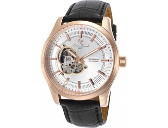 88% off Lucien Piccard Morgana Mechanical Leather Watch