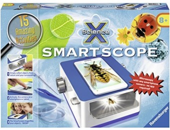 80% off Ravensburger Science X Smartscope Science Kit
