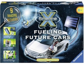 88% off Ravensburger Science X Fueling Future Cars - Activity Kit