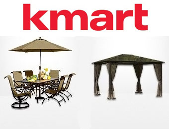Up to 60% off Patio Furniture + $5 Off $50 w/code: KMART5OFF50
