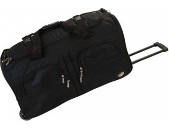 60% off Rockland 36 Solid Rolling Duffle Bag