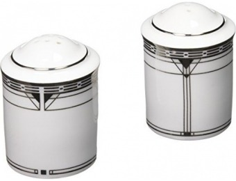 89% off Noritake Palmer Platinum Salt & Pepper Shakers
