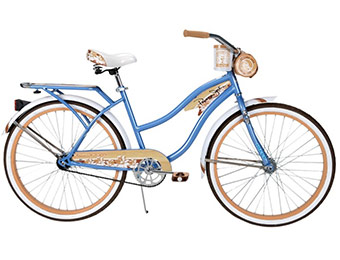"$41 off Huffy Panama Jack 26"" Women's Cruiser Bike (Blue)"