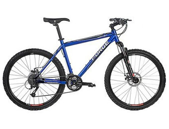 "$211 off Forge Men's Sawback Hard Trail 5xx 19"" Mountain Bike"