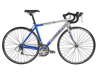 "$151 off Forge Men's CTS 1000 19"" Road Racing Bike (Graphite Blue)"