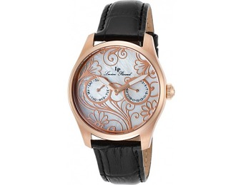 90% off Lucien Piccard Lovemaze Leather Band Watch