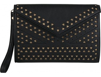 61% off Melie Bianco Quincy Clutch, Black