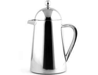 72% off Francois et Mimi Stainless Steel Double French Coffee Press