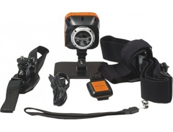91% off POV MAC50 1080p HD Waterproof Action Video Camera