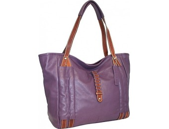 69% off Nino Bossi Jara's Manhattan Tote Leather Handbag