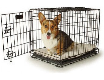71% off Petco Classic 1-Door Dog Crate, Small, Black