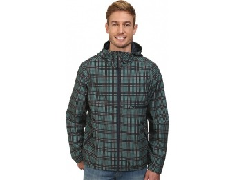 $117 off Prana Grayson Jacket (True Teal Plaid) Men's Coat