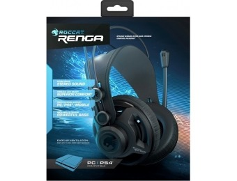 30% off Roccat Renga Studio Grade Over-Ear Stereo Gaming Headset