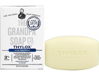 83% off Grandpa's Soap Co. Thylox Acne Treatment Soap