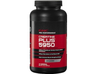 60% off GNC Pro Performance Creatine Plus 5950