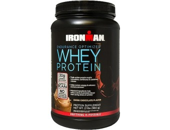 60% off IRONMAN Endurance Optimized Whey Protein