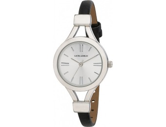 94% off Ladies Laura Ashley Silver Tone Watch - LA31011SS