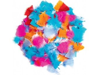 87% off Neon Feathers - 3 oz.