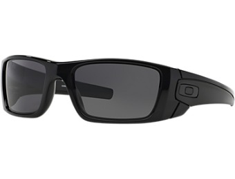 $70 off Oakley Fuel Cell Black Shiny Rectangle Sunglasses