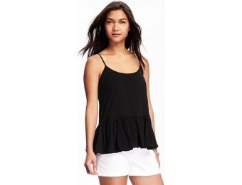 78% off Old Navy Swing Peplum Cami For Women