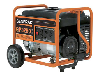 $137 off Generac 5982 GP3250 3,250 Watt Gas Generator