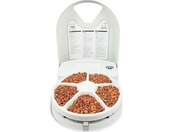 55% off PetSafe 5-Meal Pet Feeder