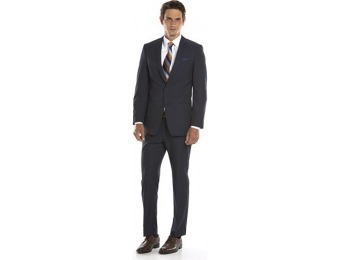 80% off Men's Andrew Fezza Slim-Fit Navy Suit Jacket