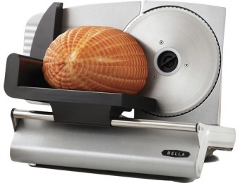 50% off Bella Stainless Steel Electric Food Slicer BLA13753