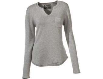 60% off Natural Reflections Notch Neck Sweater for Ladies