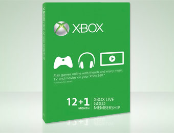 31% off 13-Month Xbox Live Gold Membership