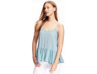 83% off Old Navy Swing Peplum Cami For Women
