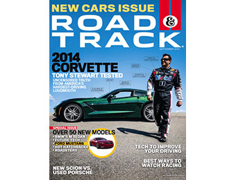 93% off Road & Track Magazine 1 Yr Subscription, promo code: 6096