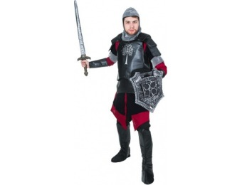 70% off Adult Medieval Battle Knight Costume