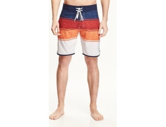 85% off Old Navy Striped Board Shorts For Men 9""