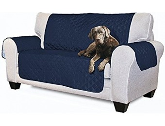 71% off Furhaven Reversible Pinsonic Poly Loveseat Protector