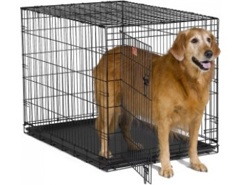 48% off Midwest iCrate Dog Crate, Black