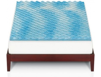 70% off The Big One Gel Memory Foam Mattress Topper, All Sizes