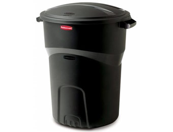 Deal: Rubbermaid Roughneck 32 gal. Black Trash Can