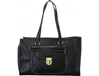 64% off Olivia + Joy Elaine Satchel, Black