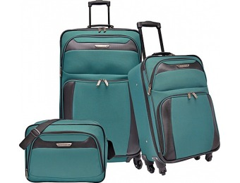 50% off Traveler's Choice Richmond 3-Piece Spinner Luggage Set