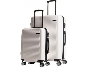 $201 off CalPak Tustin Hardside Expandable 2-Pc Luggage Set